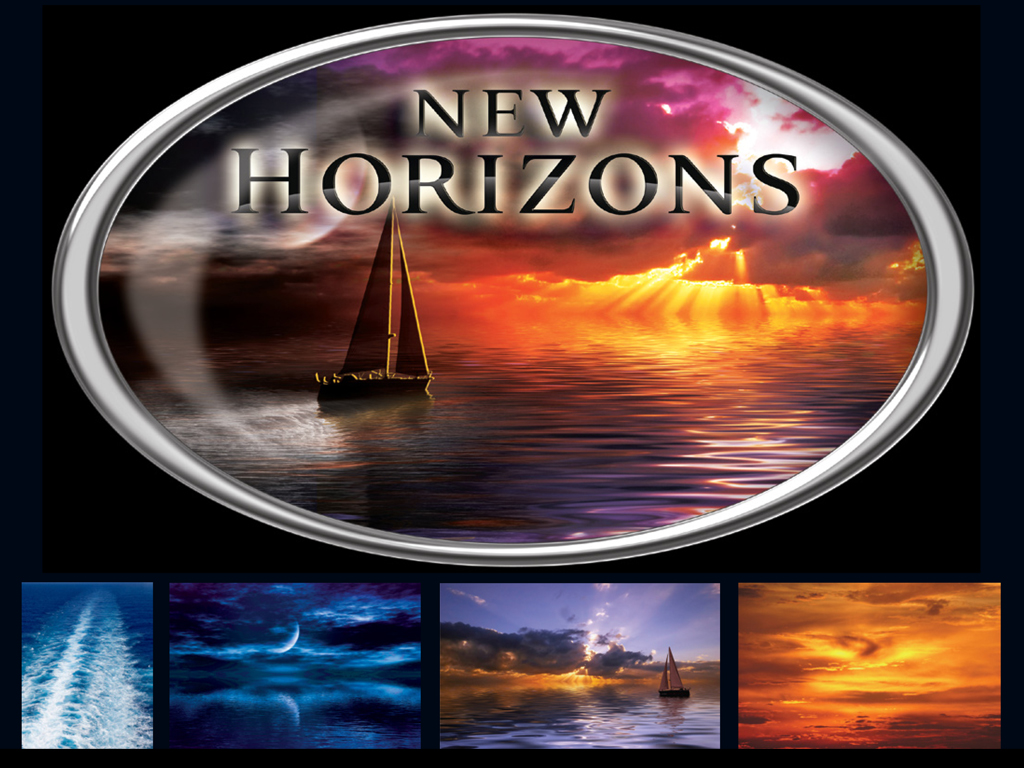 New Horizons - Logo Composition