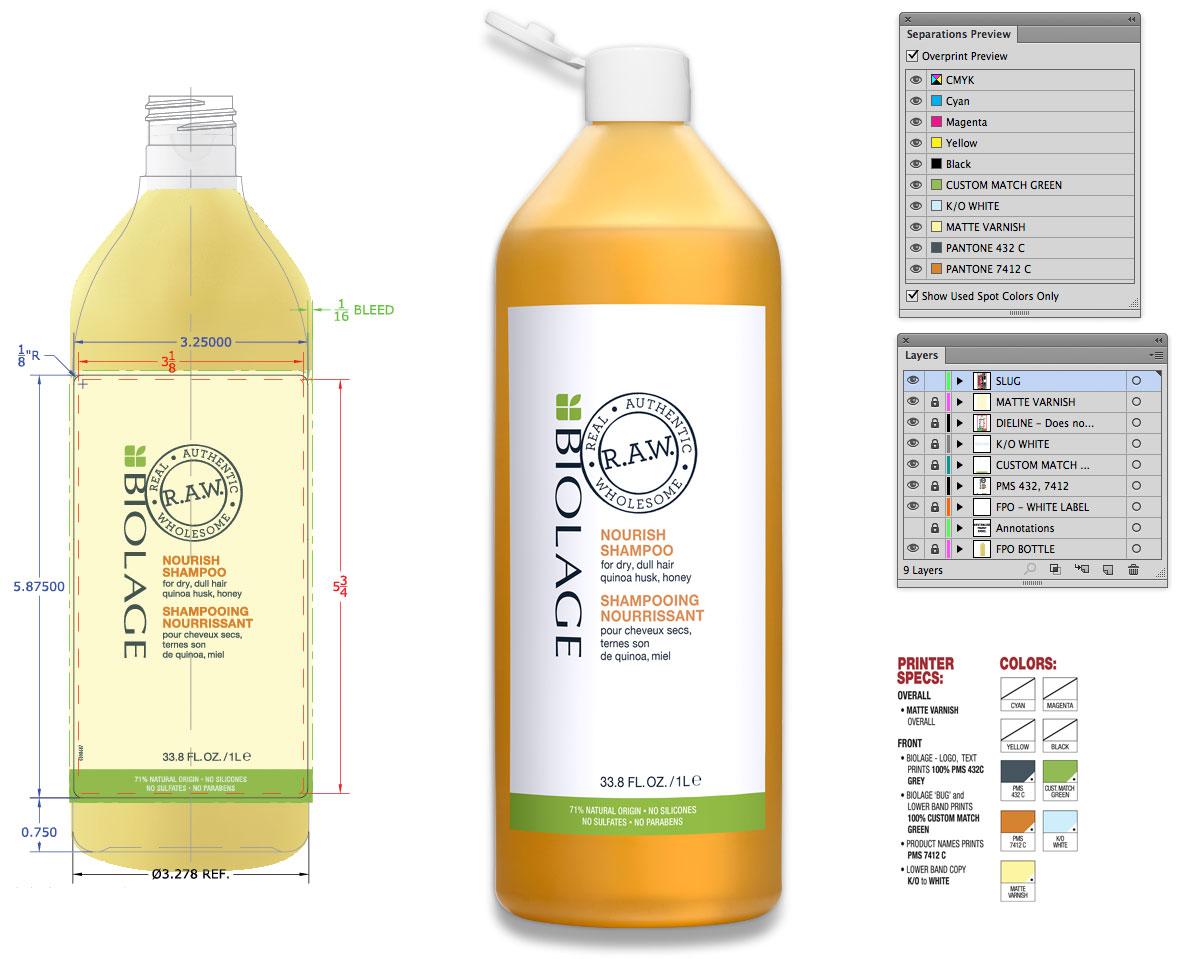 Biolage RAW 1 Liter