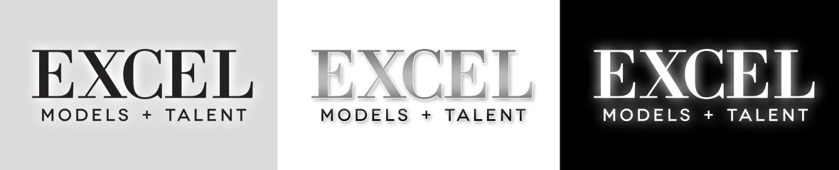 Excel Models & Talent - Logos