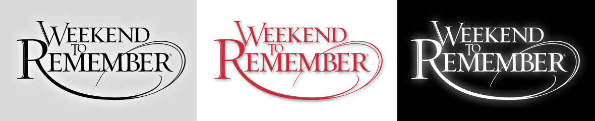 Weekend to Remember - Logos