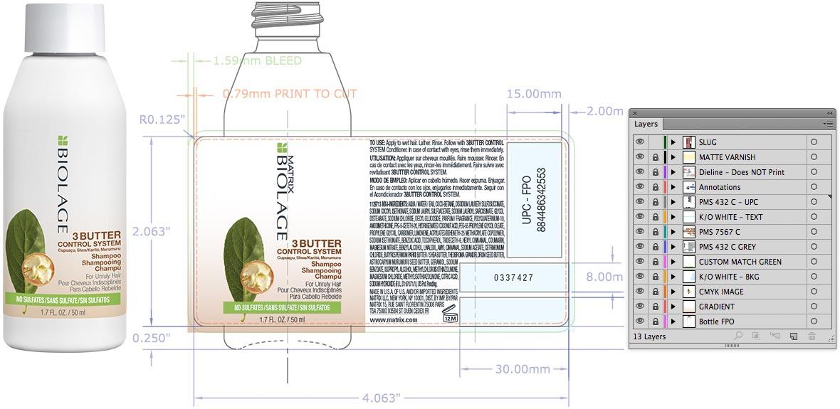 Biolage Packaging Design